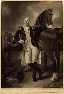Valentine Green After Charles Willson Peale British Poster