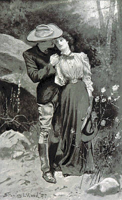 Poster featuring the photograph Valentines Day, 1898 by British Library