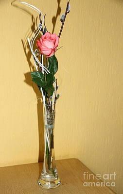 Valentine's Rose I Poster