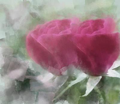 Valentine's Roses Poster