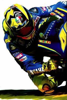 Valentino Rossi  Corner Speed IIi Poster