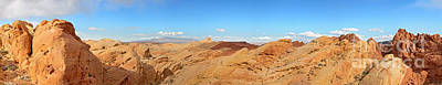 Valley Of Fire Pano Poster by Jane Rix