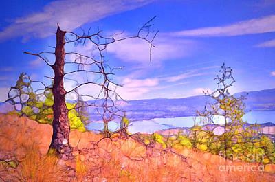 Valley Views Poster by Tara Turner