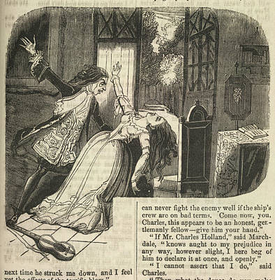Vampire And Woman Poster by British Library