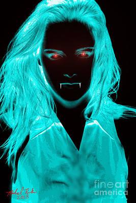 Vampirette Poster by Michael Rucker