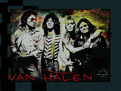 Van Halen - Ain't Talkin' 'bout Love Poster