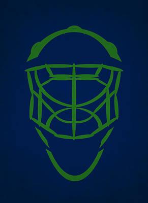 Vancouver Canucks Goalie Mask Poster by Joe Hamilton