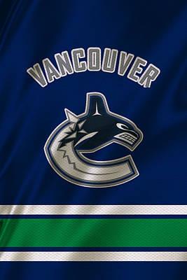 Vancouver Canucks Uniform Poster