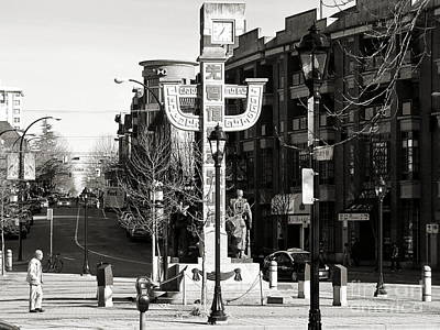 Poster featuring the photograph Vancouver's Chinatown by Cendrine Marrouat