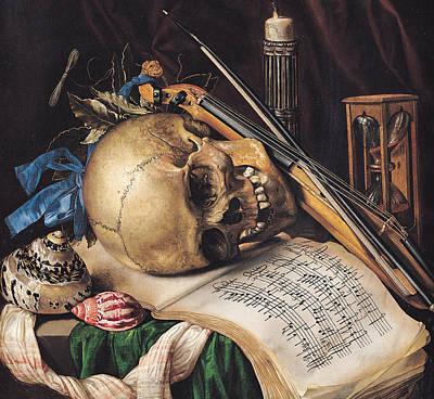 Vanitas Poster by Simon Renard de Saint Andre