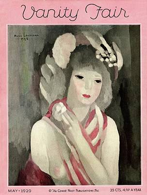 Vanity Fair Cover Featuring A Painting Poster