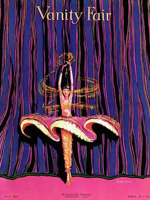 Vanity Fair Cover Featuring And Exotic Dancer Poster by Dorothy Ferriss