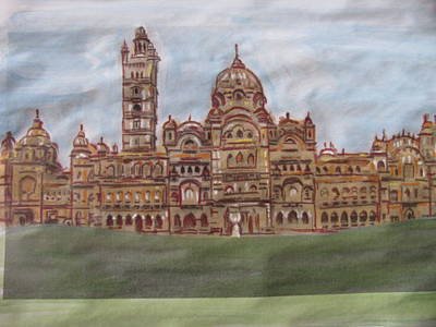 Poster featuring the painting Varadara by Vikram Singh