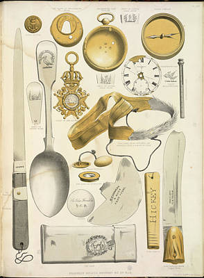 Various Recovered Relics Poster by British Library