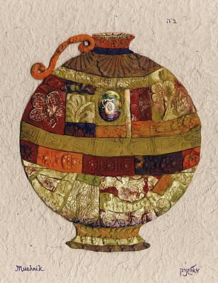 vase - Mosaic Poster by Michoel Muchnik