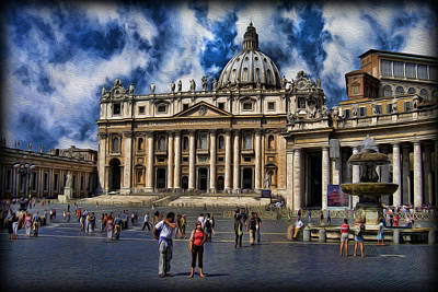 Vatican City - The Bishop Of Rome's Home Poster by Lee Dos Santos