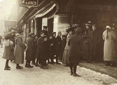 Vaudeville Audience, 1912 Poster