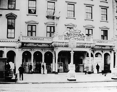 Vaudeville Theater, 1895 Poster by Granger