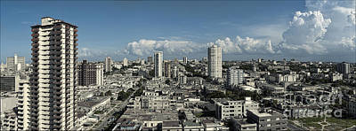 Vedado Havana Cuba Poster