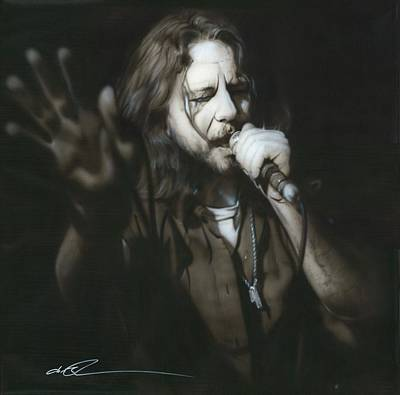 Eddie Vedder - ' Vedder IIi ' Poster by Christian Chapman Art