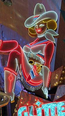 Vegas Vicky Poster