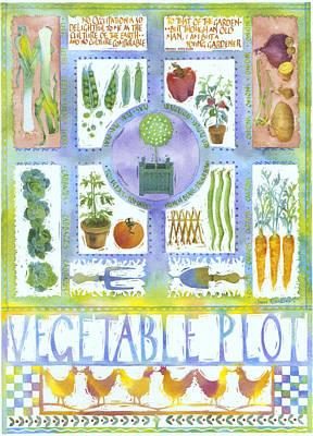 Vegetable Plot Poster