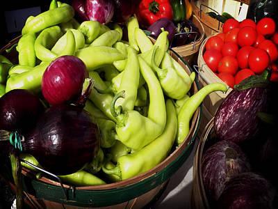 Vegetables Organic Market Poster