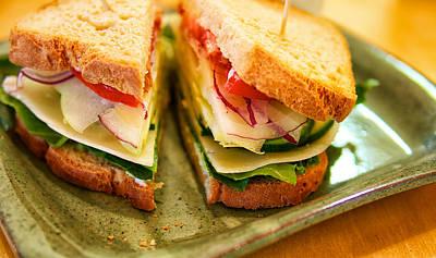 Veggie Sandwich Poster