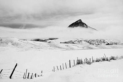 Poster featuring the photograph Veiled Winter Peak by Kristal Kraft