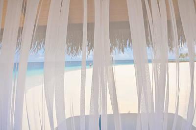 Veiled World. Maldives Poster by Jenny Rainbow