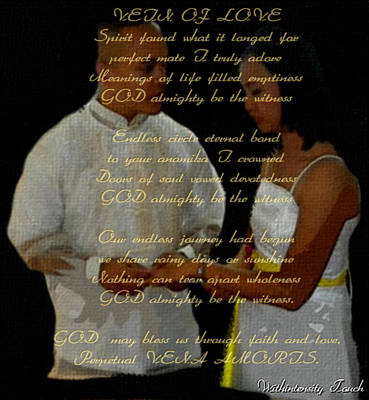 Vein Of Love Poem Poster