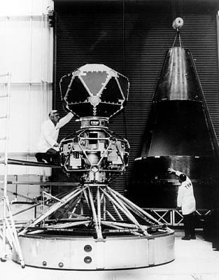 Vela Nuclear Detection Satellite Poster