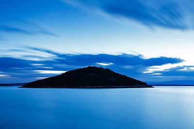 Veli Osir Island At Dawn Poster