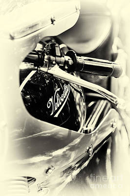 Velocette Cafe Racer Poster by Tim Gainey