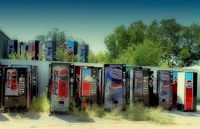 Vending Machine Graveyard Poster