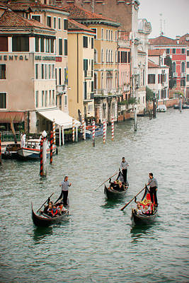 Poster featuring the photograph Venice by Silvia Bruno