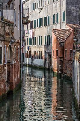 Venetian Building Poster