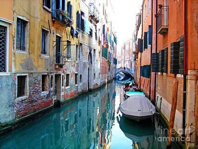 Venetian Calm Poster
