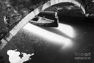 Venetian Canals Poster by Yuri Santin