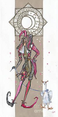 Venetian Jester - Elena Yakubovich Poster