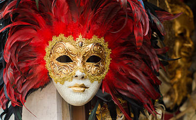 Venetian Mask Poster by Hans Engbers