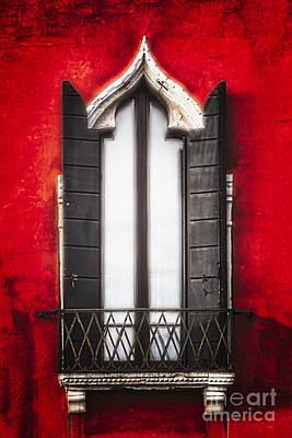 Venetian Window  Poster by George Oze