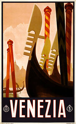 Venezia Italy Poster by Georgia Fowler