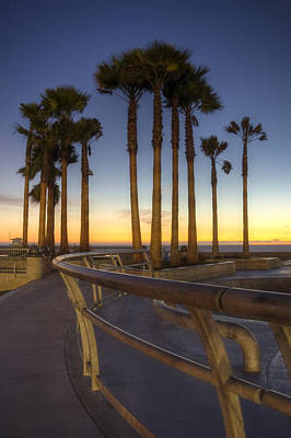 Poster featuring the photograph Venice Beach by Brent Durken
