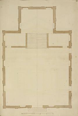 Venice Building Floor Plan Poster