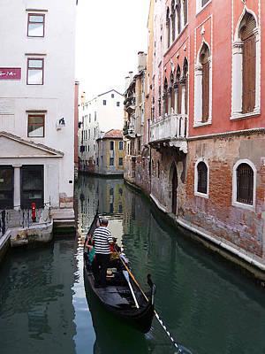 Venice Canal   Poster by Irina Sztukowski