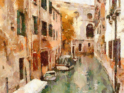 Venice Canals Beauty 13 Poster