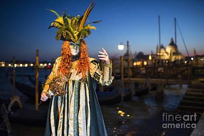 Venice Carnival '15 Vi Poster by Yuri Santin