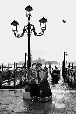 Venice Carnival Poster by Yuri Santin