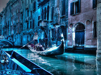 Poster featuring the photograph Venice Dream by Hanza Turgul